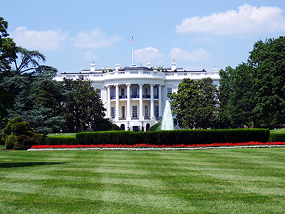 Lawn of the White House